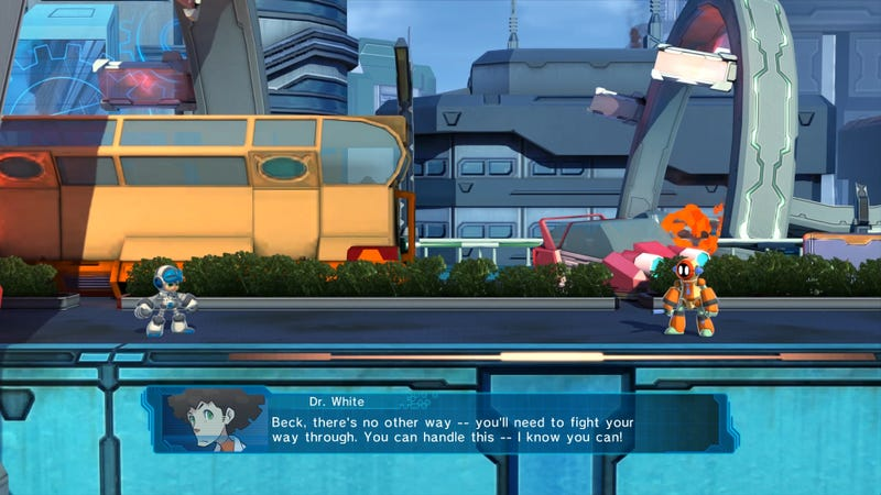 Mighty No. 9 Tries Real Hard, But No