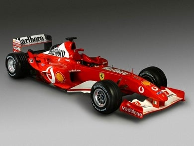 Ferrari's Subliminal Cigarette Ads