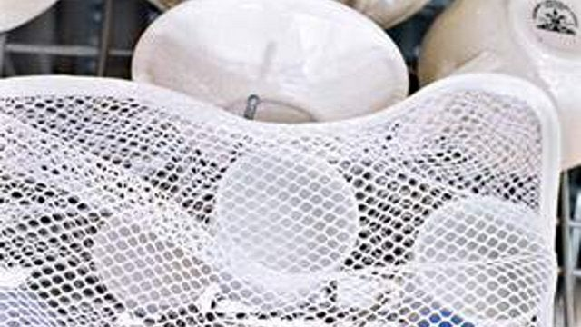 Keep Small Lids Together in Your Dishwasher with a Laundry Bag