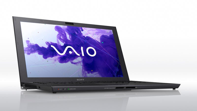 Sony Vaio Z: The Lightest Full-Horsepower 13-Inch Notebook Has a Heavy Duty Price