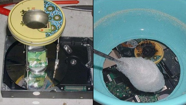 Spin Your Own Cotton Candy with an Old Hard Drive