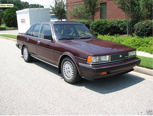 1985 Toyota Cressida for a Burgundy Interiored $5,950!