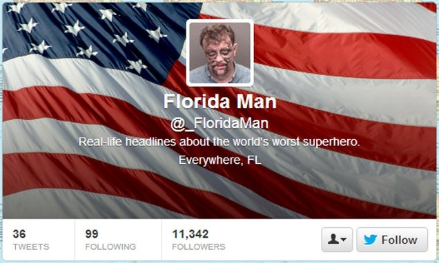 'Florida Man' Personifies Everything That's Messed Up About Florida