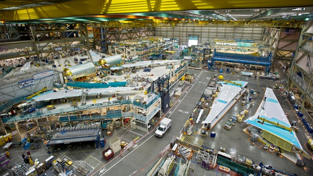 Boeing Will Dispatch Six Dumptrucks Per Minute To Build New Factory