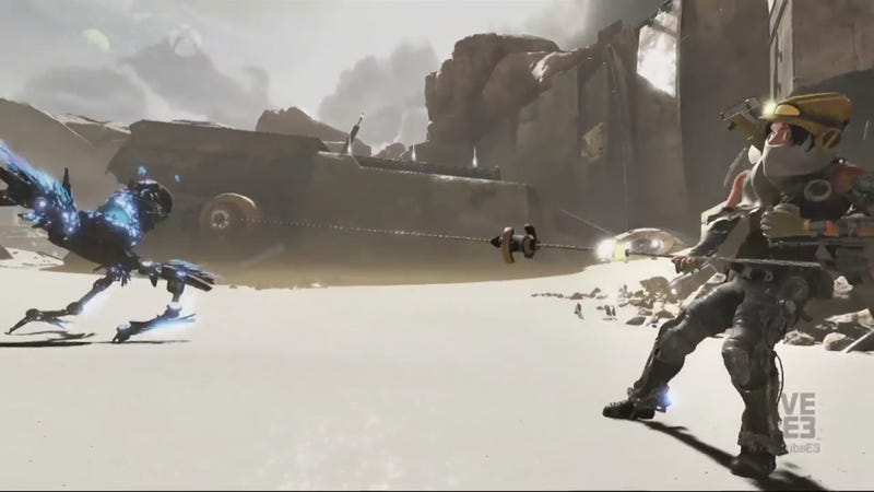 ReCore Shows Off Gameplay Footage, Dog Robots