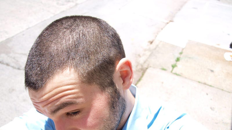 Ferrari Head Shave Gallery