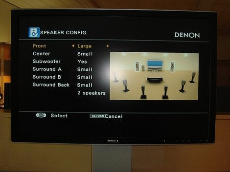 Denon Dolls Up GUI on its New A/V Receivers