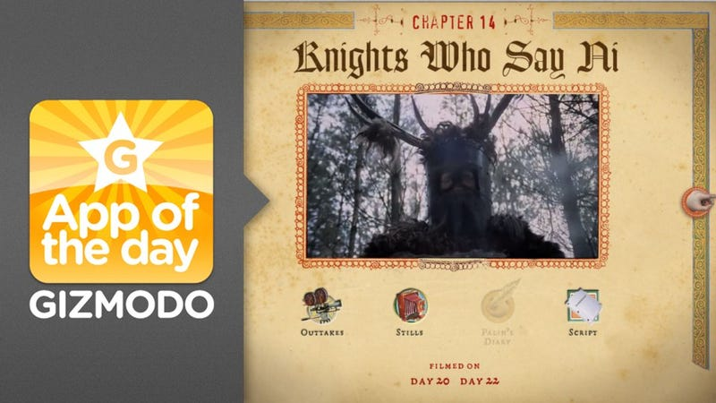 The Holy Book of Days: An iPad Companion For Monty Python and the Holy Grail