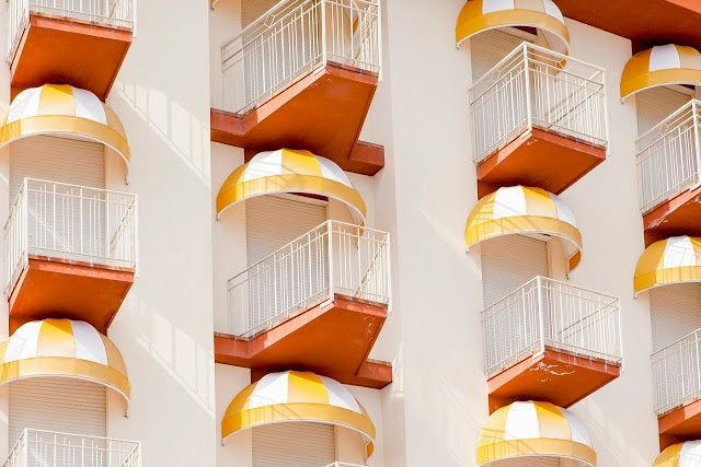 Venice's Beachfront Balconies Look Like Boxes of Candy