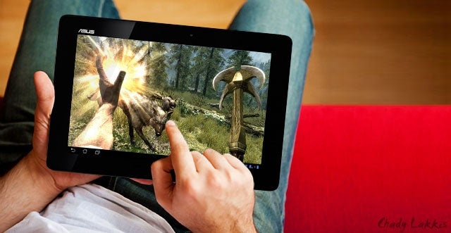 Want to Play Skyrim on a Tablet? There's an App for That