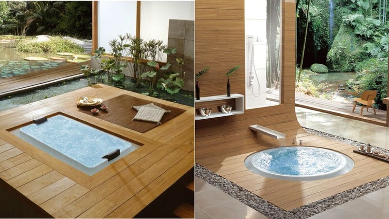 Holy Shitballs, There's a Bathtub Version of the Infinity Edge Pool