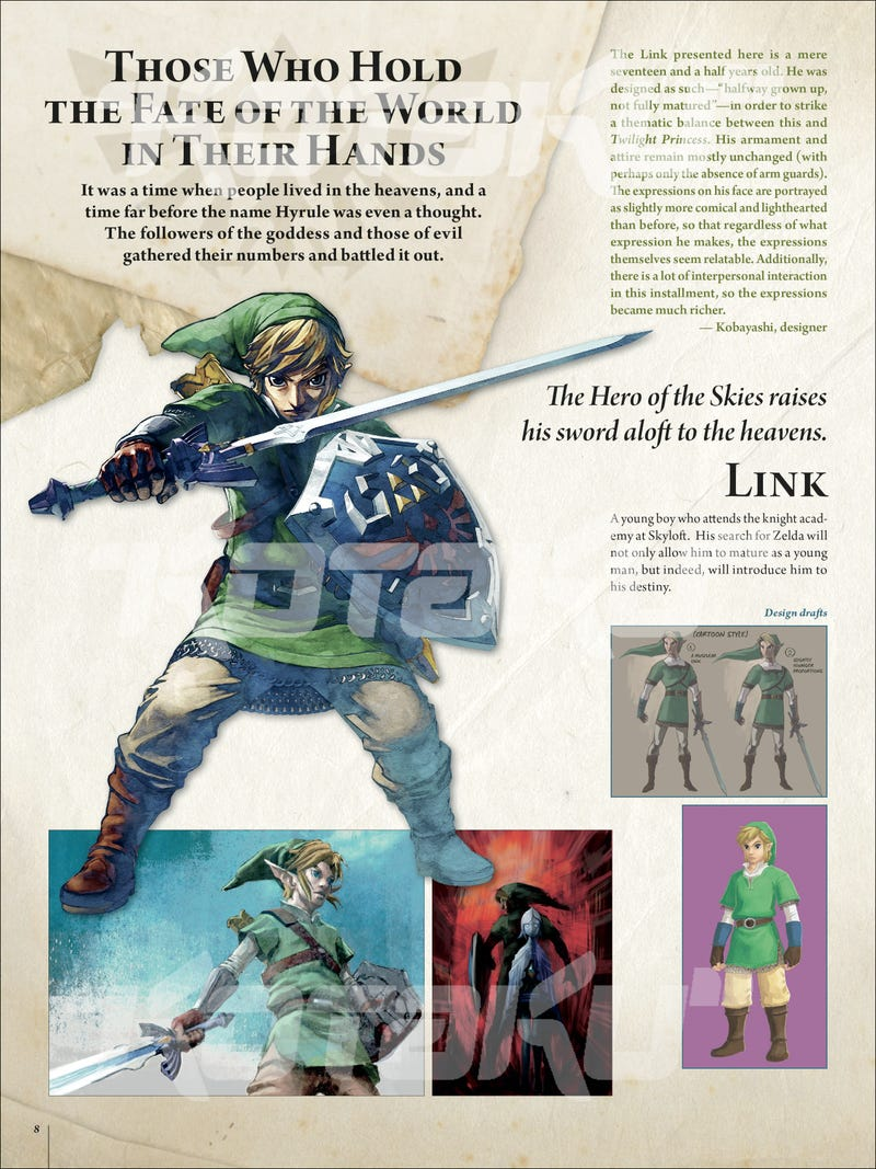 Here's The Exclusive First Look at The Legend of Zelda: Hyrule Historia in Glorious English