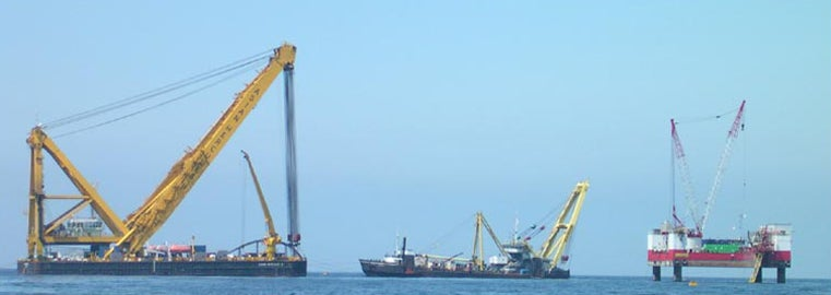 MV Tricolor Salvage Prep Work