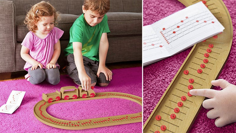 A Model Train Music Box Is the Perfect Toy For Young Conductors