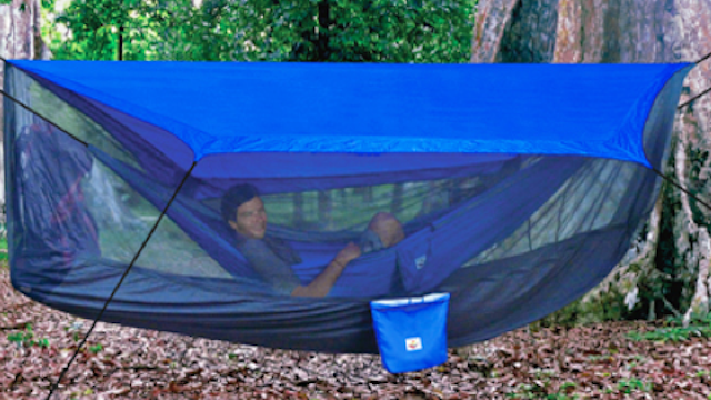 A Tent for Your Hammock. Oh Hell Yes.