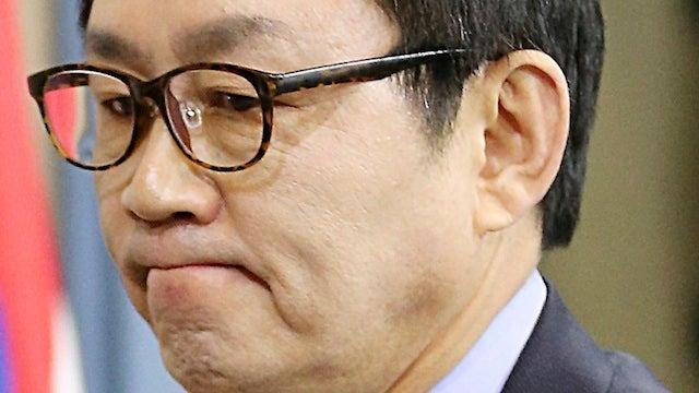 South Korea's Alleged Intern-Groping Presidential Spokesman Flees D.C.