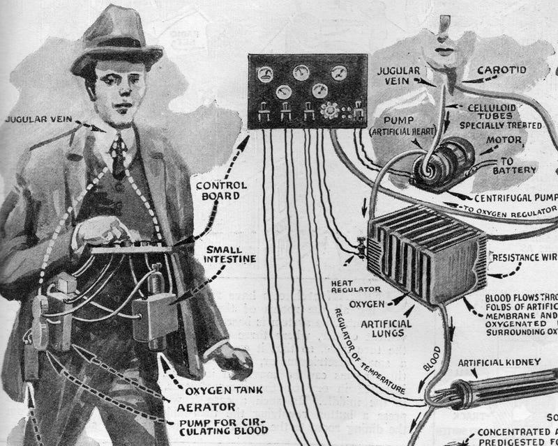 Building a Cyborg in the Roaring Twenties