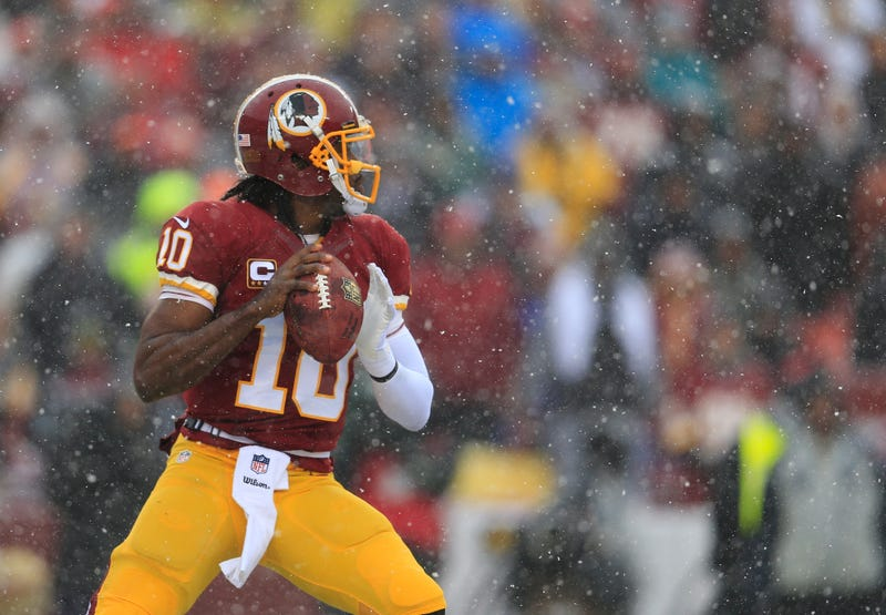 Report: RG3 Is Pissed About Being Benched