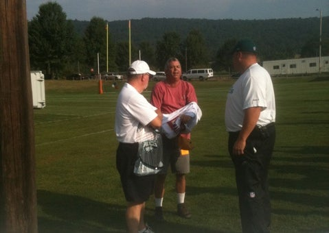 Andy Reid Calls Security On Fan In McNabb Jersey