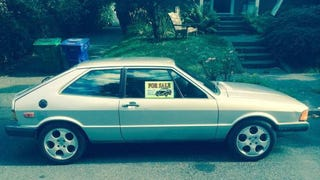 Would You Go $5,900 For A Diesel 1980 VW Scirocco?