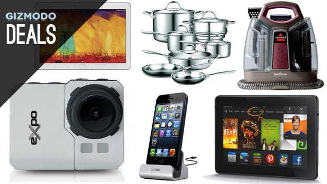 Deals: Budget Action Cams, $250 off MacBook Airs, Tri-Clad Cookware
