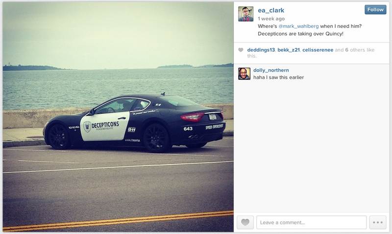 Transformers Fan Busted for Impersonating a Cop, Ruining a Maserati