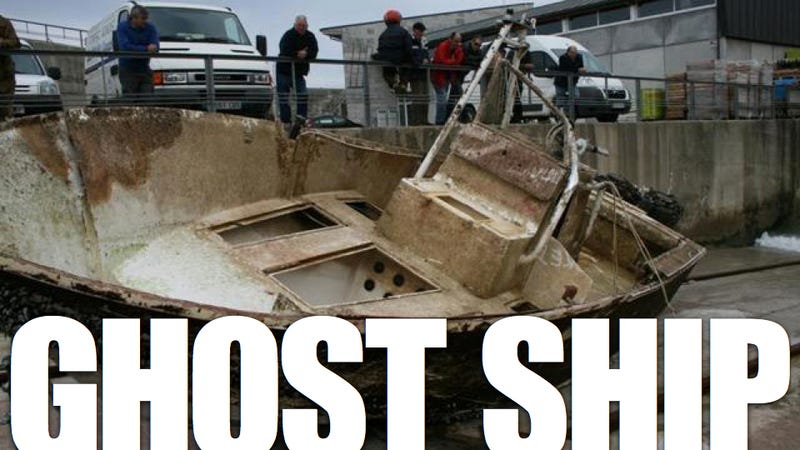 This Ghost Boat Drifted Three Years And 3,500 Miles Without A Crew