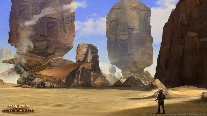 Star Wars: The Old Republic Won't Launch In Asia, Australasia