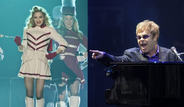 Elton John Calls Madonna a 'Fairground Stripper'; Says Her Tour is a Disaster and Her Career is Over