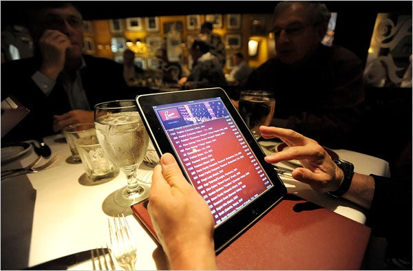 Why iPads Increase Wine Sales at Restaurants?