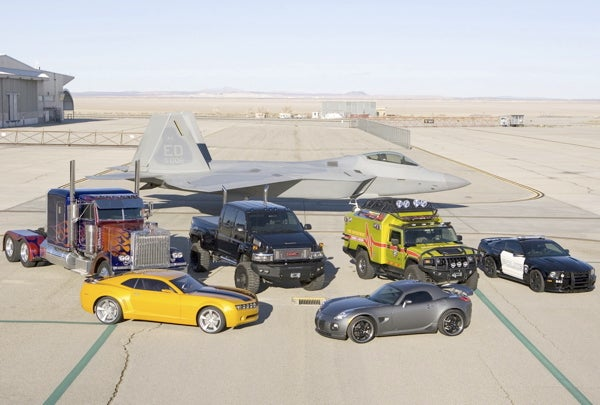 Transformers Movie Update: New Vehicle Pictures From Edwards Air Force Base!
