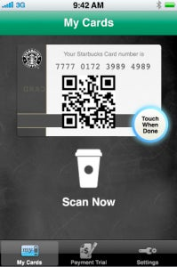 Starbucks Now Accepting iPhone Payments In Over 1,000 Stores