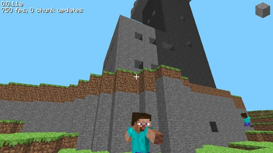 This is What Minecraft Looked Like on its Very First Day
