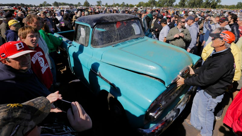 1958 Pickup With 1.3 Miles On The Clock Sells For $142,000
