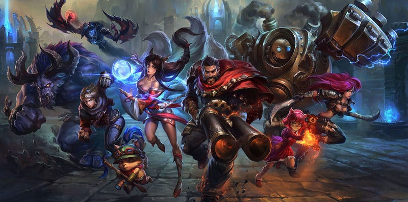 League Of Legends Testing New System For Banning Assholes