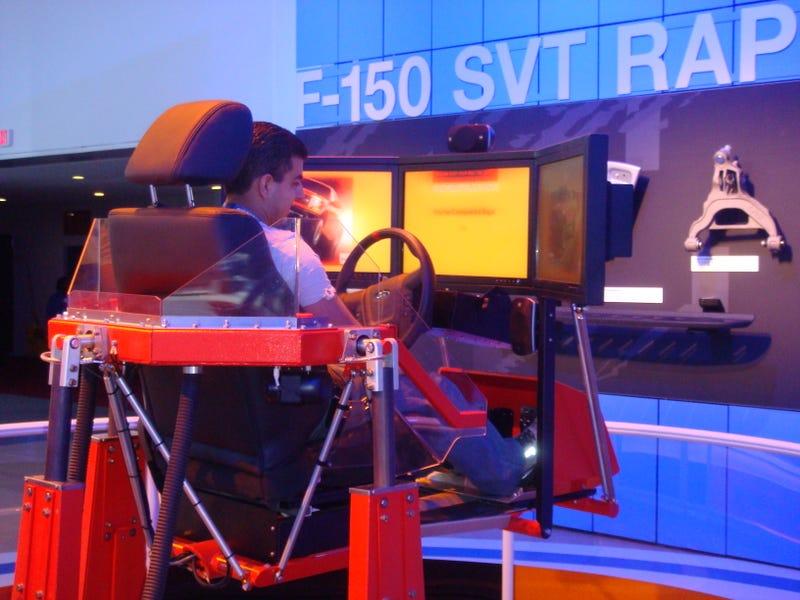 First Drive: 2010 Ford SVT Raptor...Video Game Simulator