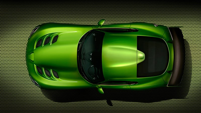 The SRT Viper Now Comes In This Awesome Shade Of Green