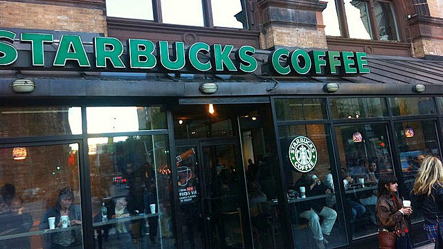 Feeble Anarchists Fail to Smash New York City Starbucks Window
