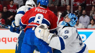 Brandon Prust Had A Bit Of A Meltdown