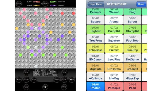 Now You Can Pretend to be Bjork With a Tenori-On iOS App
