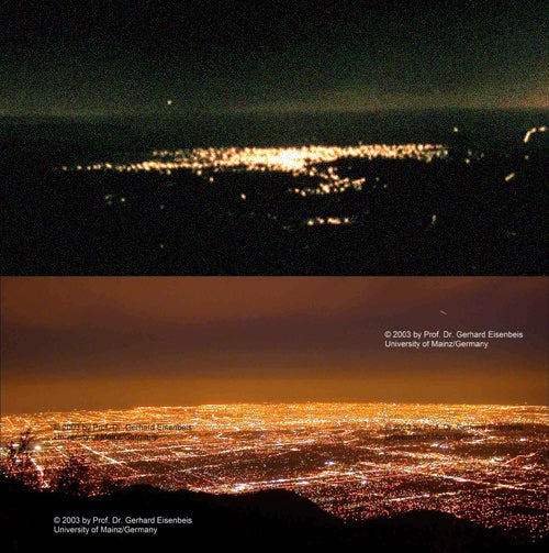 Los Angeles Skyline: Before and After