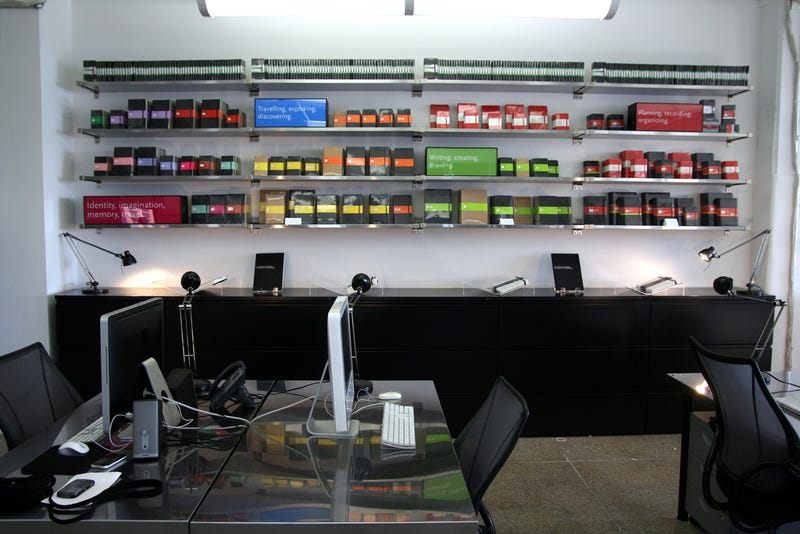 Inside the Offices of Moleskine - New York Gallery