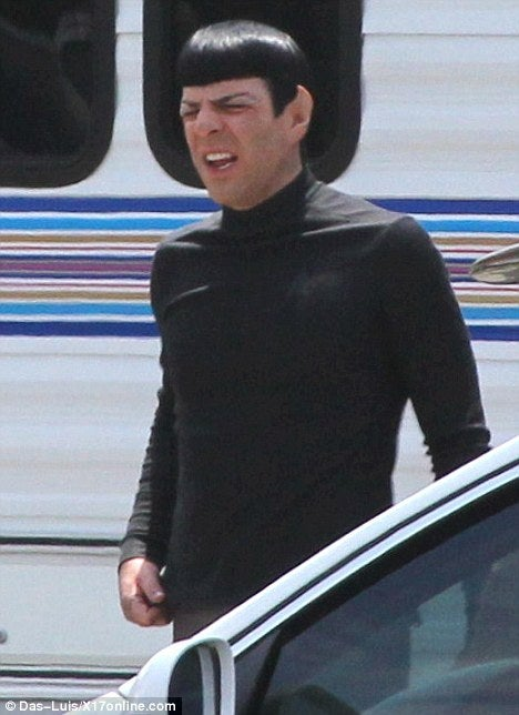 Set Pictures from Star Trek 2