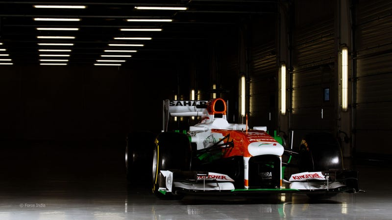 The Force India VJM06 Is A Nation's Fastest Billboard