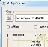 GMapCatcher Browses Online Maps and Saves Them for Offline Use