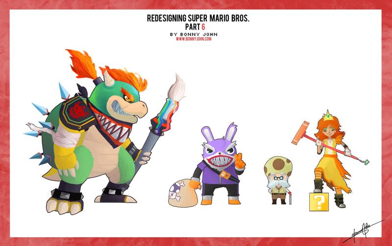 Redesigning Super Mario Bros. Part 6