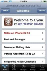 Cydia Opens iPhone App Store for the Jailbroken Community