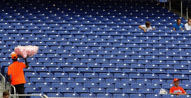 Photos: Marlins Park Is Satisfyingly Empty