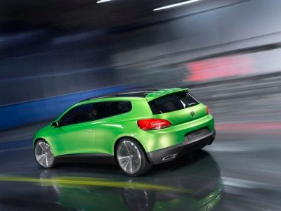 The Wind Cries Scirocco: More on VW's Iroc Concept