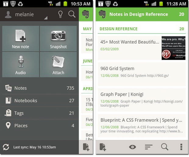 Evernote for Android Gets a Whole New Look and More User-Friendly Features